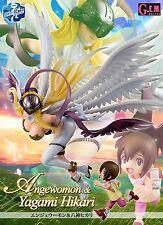 MEGAHOUSE GEM Digimon Adventure Angewomon & Yagami Hikari PVC Figure