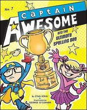 Captain Awesome and the Ultimate Spelling Bee-ExLibrary