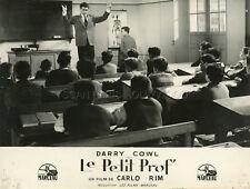 DARRY COWL  LE PETIT PROF  1959 VINTAGE PHOTO ORIGINAL