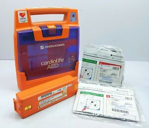 Nihon Kohden Cardiolife AED Star Biphasic Automated External Heart Starter