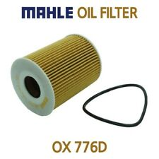 Mahle Oil Filter OX 776D - Fits PEUGEOT, JAGUAR, LAND ROVER, CITROEN
