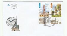 Israel Israeli Stamps Envelope - Ottoman Clock Towers in Israel FDC