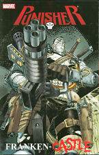 PUNISHER: FRANKEN-CASTLE TPB Rick Remender Marvel Comics Wolverine Dark Reign TP