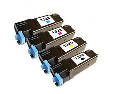 4 NO-OEM para Dell 1320c 1320cn Láser a Color Jet Cartuchos de tóner