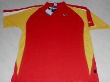 Kansas City Chiefs Polo Shirt XL Reebok NFL Red New