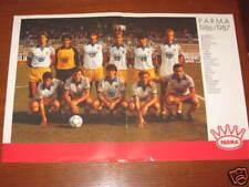 POSTER PARMA CALCIO 1986/87 MELLI FONTOLAN MUSSI