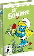 4 DVDs *  DIE SCHLÜMPFE - DIE KOMPLETTE STAFFEL 2  # NEU OVP <