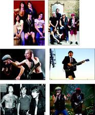 AC/DC Supergruppe Awseome neu 6 karte postkarte Set