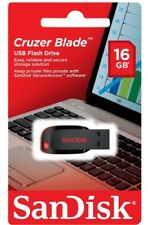 Lot of 25 - SanDisk 16GB CRUZER BLADE USB 2.0 Flash Memory Pen Drive Stick Pack