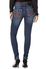 MISS ME FLEUR DE LIS JEGGING SKINNY JEANS NEW WITH TAGS NWT JP5567G4