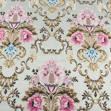 Brocade Fabric Damask Jacquard Embossed Flower Sofa Upholstery Fabric by yard