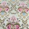 Brocade Fabric Damask Jacquard Embossed Flower Sofa Upholstery Fabric by yard