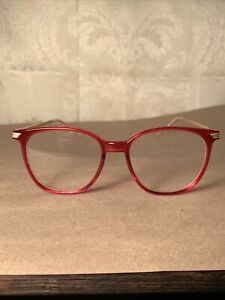 Vintage Grant Foster Grant reading Glasses Red 1.25