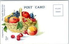 Advertising Postcard  SEBASTOPOL, California CA THE CASH NURSERIES Sonoma County