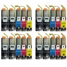 20 Ink Cartridges for Brother LC3217Bk, LC3217C, LC3217M, LC3217Y Compatible
