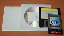 Compact Flash adaptador PCMCIA amiga 600/1200 con 128 MB tarjeta CF amiga compatieb