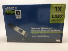Linksys Cisco Compact Wireless-g USB Network Adapter With Speed Booster