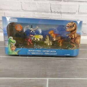 The Good Dinosaur Butch's Pack Figure Bundle Tomy Lurleane Jack Disney Woodbush