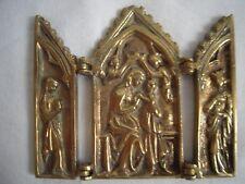 Bronze Reisealtar, Klapaltar