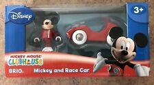 32241 Brio Wooden Train Mickey & Race Car! Thomas!