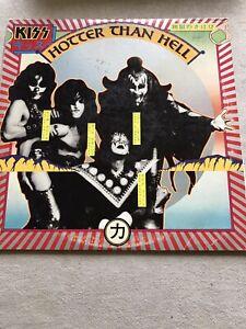 Kiss - Hotter than Hell USA first press blue bogart LP