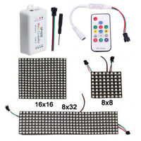 WS2812B RGB Flexible LED Panel Matrix Programmable Display Screen + Controller