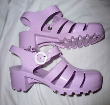 Chaussures shoes sandales sandals jelly AMERICAN APPAREL pastel EU 41 UK 8 US 10