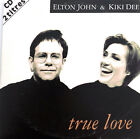 Elton John & Kiki Dee ‎CD Single True Love - France (VG+/EX)