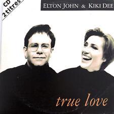 Elton John & Kiki Dee CD Single True Love - France (VG+/EX)