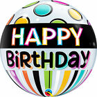 Qualatex HAPPY BIRTHDAY BOLLE Palloncini - Elio Festa Palloncino Decorazione