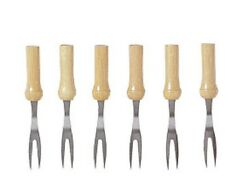 Chef Aid Corn on the  Cob Forks Holders Pack of 6