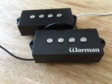 Warman P Bass Classic pickup. 8.56kOhm and 5.21 Henries.