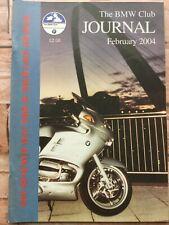 The BMW Club Journal - February 2004 - Dublin to Budapest