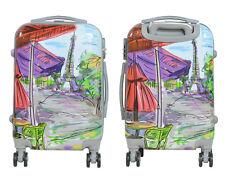 Maleta pequeña para cabina rígida fantasia impresionismo 4 ruedas dobles 360º