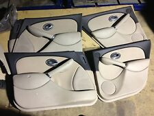 Complete 4 x Casing assembly- Ash Grey/Sandstone Beige - Genuine MG Rover 75