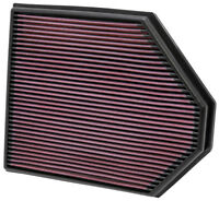 33-2465 K&N Replacement Air Filter BMW X3 3.0L L6; 2011 (KN Panel Replacement Fi