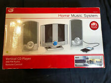 GPX HM3817DT   Music System  AM/FM Radio CD Player  Clock w  Stand  With Remote