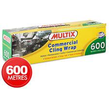 Multix Commercial Cling Wrap 600m x 33cm