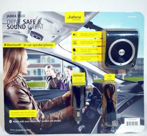 Jabra Freeway Car Speakerphone In-Car Speakerphone Kit 666494 Black - BRAND NEW