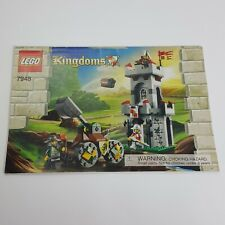 Lego Kingdoms 7948 **MANUAL ONLY**