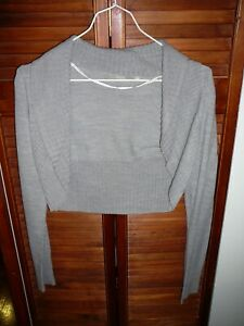 Boléro gilet veste gris 34/36 S