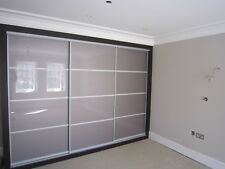 Sliding Wardrobe Mirror Gloss Panel Doors. Made To Measure. Custom Design.