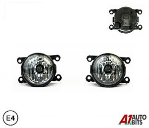 Fits Jaguar S-Type X-Type Fog Lamp 06-13 2X Lights Lamps E4 Lh Or Rh +H11 Bulb
