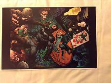 2016 WONDERCON BATMAN ART PRINT #1 by DAVID FINCH & RICHARD FRIEND -  11x17