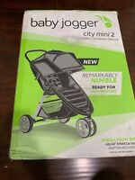 Baby Jogger Baby City Mini 2 Comfortable Travel Stroller - Sepia