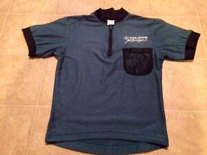 Polaris Racing Snowmobile Shirt Men's Extra Small Short Sleeve Soft Very Nice