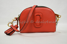 MARC By Marc Jacobs M0009474 Shutter Camera Shoulder/Crossbody Bag in Lava Red