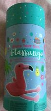Make Your Own Flamingo Sewing Kit All Contents In Container.free Post,Brand new.