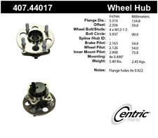 Wheel Bearing and Hub Assembly-Premium Hubs Rear Centric 407.44017