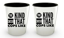 Police Officer Gifts Man Women | Funny Policeman Cop Shot Glasses Birthday Party